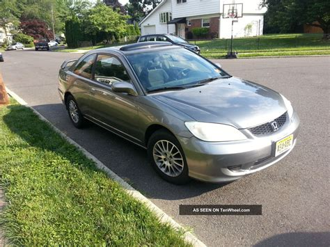 2005 honda civic 2 door coupe 2005 honda civic ex coupe 2 door fully maintained