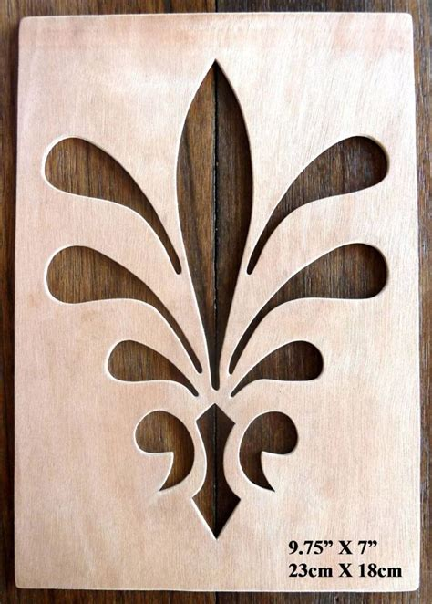 hand crafted mdf drawing templates stencils   ape