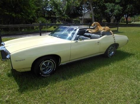 1969 Pontiac Tempest For Sale by Purchase Used 1969 Pontiac Tempest Convertible Custom S
