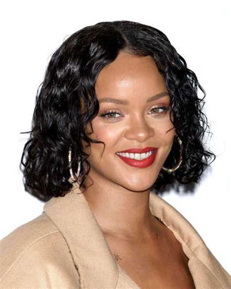 medium length wet and wavy black people hair latest celebrity short hairstyles crazyforus