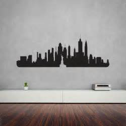 Vinyl Stickers For Walls New York City Skyline Vinyl Wall Art Decal Vinyl Revolution