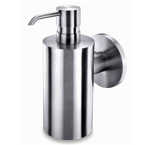 Rak Dispenser Stainless zack mobilo wall mounted soap dispenser stainless steel 40225 at plumbing uk