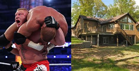 Brock Lesnar House by Brock Lesnar S House Is Up For Sale Caveman Circus