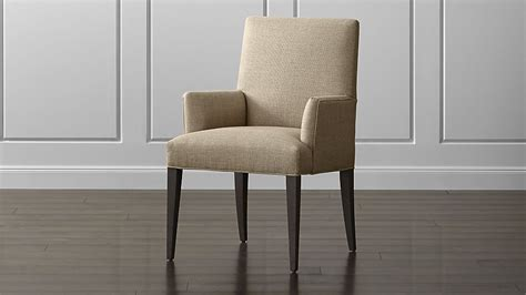 Armchair Dining by Upholstered Dining Arm Chair