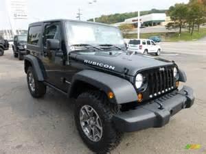 black 2013 jeep wrangler rubicon 4x4 exterior photo