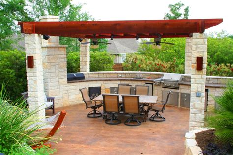 patio kitchens design hitt s landscape maintenance inc landscaping
