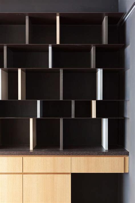 Bookcase Cabinet Partidesign Isolation Black On Behance I Storage