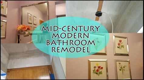Mid Century Modern Bathroom Remodel by Mid Century Modern Vintage Bathroom Remodel