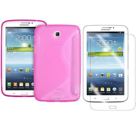 Dummy Samsung Tab 3 7inch samsung galaxy tab 3 7 inch tpu rubber gel cover s line screen protector