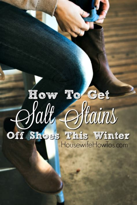 how to get salt stains shoes and boots even uggs