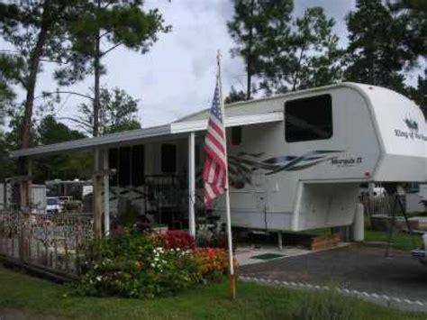 swinging bridge rv park recreational vehicles fifth wheel trailers 1996 king of