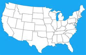 united states map states i ve been to blank map of mainland usa by dinospain on deviantart