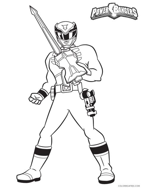 power rangers ninja storm coloring pages games power ranger coloring pages to print coloring4free