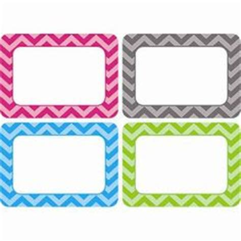 chevron name tags labels multi pack tcr5526 these 3