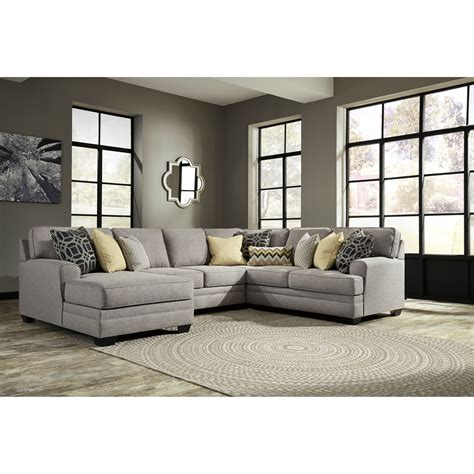 Benchcraft Cresson Contemporary 4 Piece Sectional With