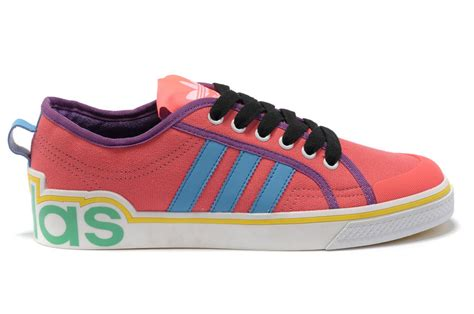 cost effective adidas ad228 shoes pink black blue