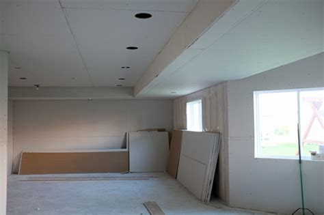installing drywall ceiling in basement basement drywall teal and lime by jackie hernandez