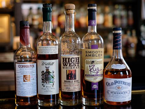 5 rye whiskeys you should be drinking serious eats