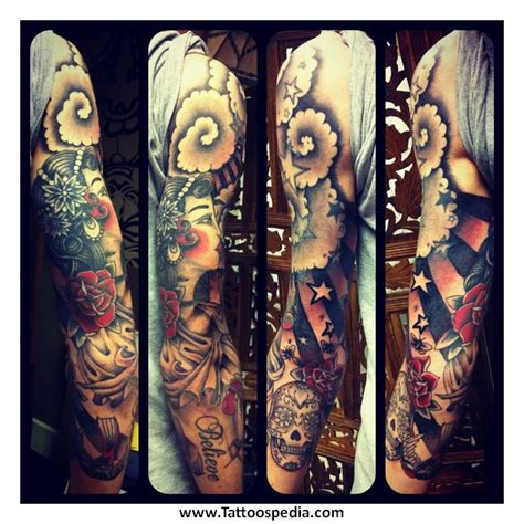fill in designs for tattoos sleeve filler ideas 4