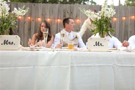 Casual Backyard Wedding by Rustic Backyard Wedding By Adria Peaden Photography