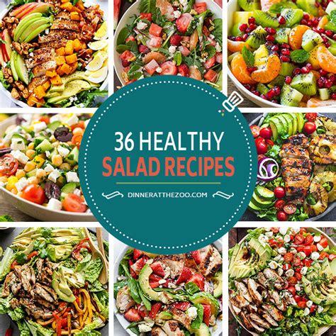 healthy salad recipes 36 healthy salad recipes dinner at the zoo