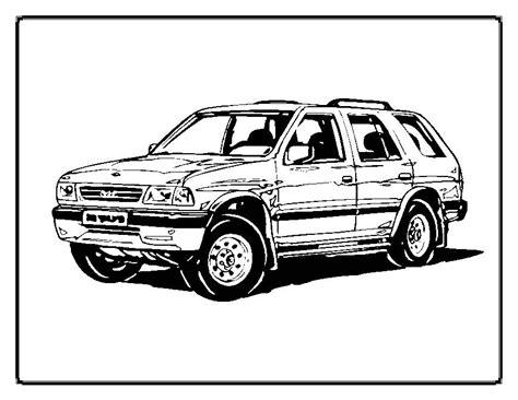 car crash coloring pages images