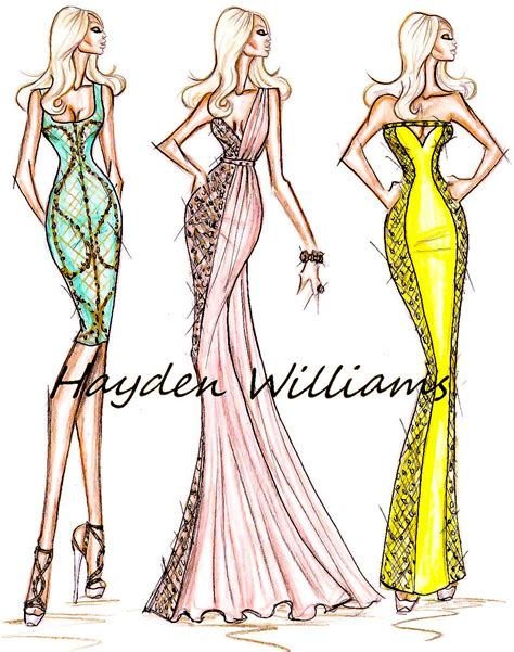 fashion illustration versace hayden williams fashion illustrations january 2012