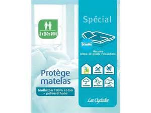 prot 232 ge matelas pour lit articul 233 100 coton conforama