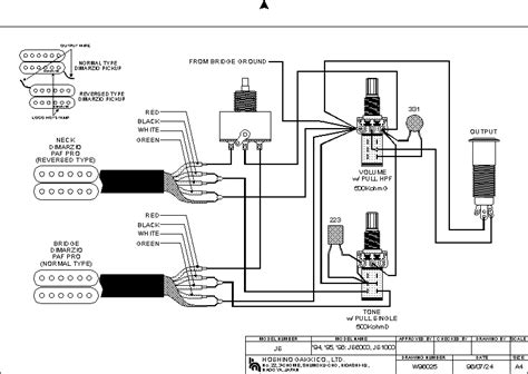 js600d js100d pict guitar wiring drawings switching