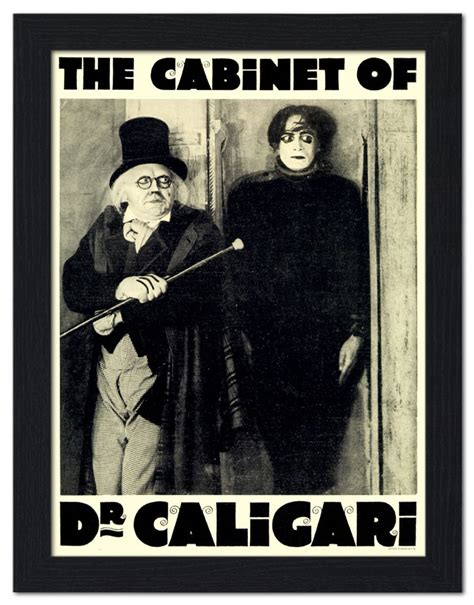 Cabinet Of Dr Caligari Poster by The Cabinet Of Dr Caligari Gets The 4k Treatment Dread
