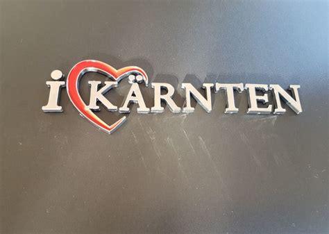I Love Kärnten Autoaufkleber by K 228 Rnten Shop Das Original Presseteam Austria