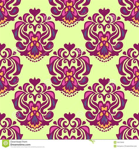 pattern vector motifs seamless pattern damask motif stock photo image 35575840