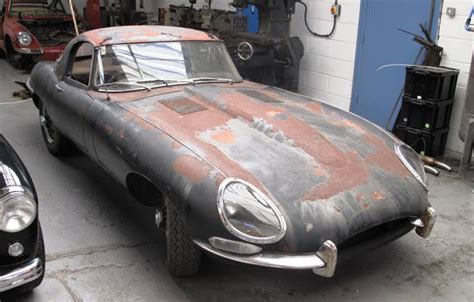 jaguar e type for sale need restoration historics at brooklands specialist classic and sports