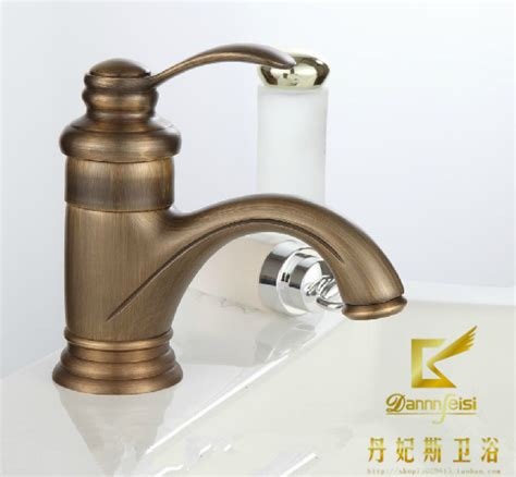antique gold bathroom faucets 2015 promotion faucet bathroom tap sink fashion faucet