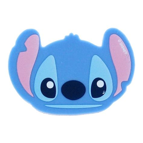 Lilo & Stitch Face Shape Eraser   Stitch