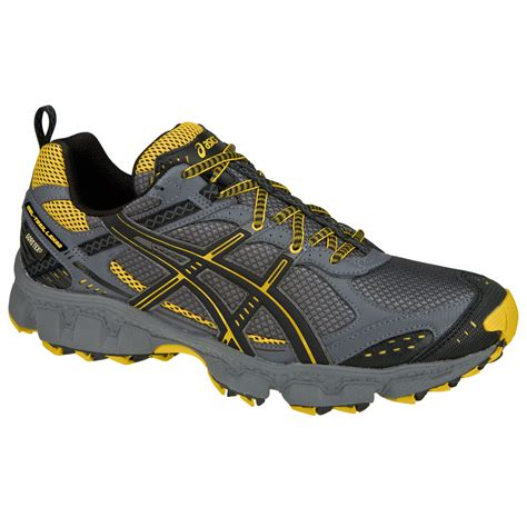 trail running shoes comparison asics gel trail lahar 2 gtx running shoes grey review