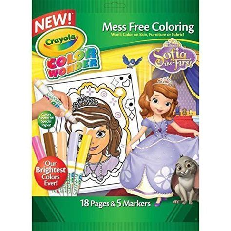 crayola giant coloring pages sofia the first crayola color wonder sofia the first