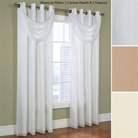 crescent window coverings rhapsody thermavoile tm crescent valance window treatment