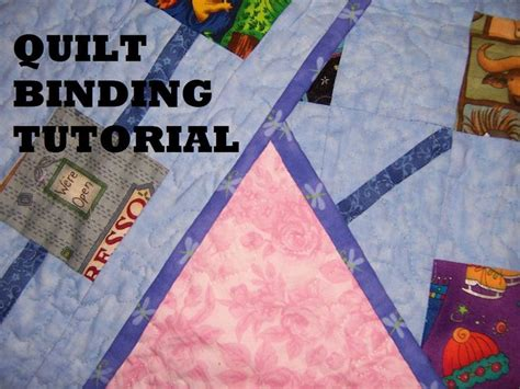 How To Bind A Quilt Corner by Quilt Binding Tutorial