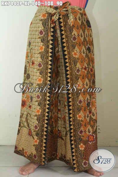 Layer Celana jual celana batik halus model kulot pakai layer trend