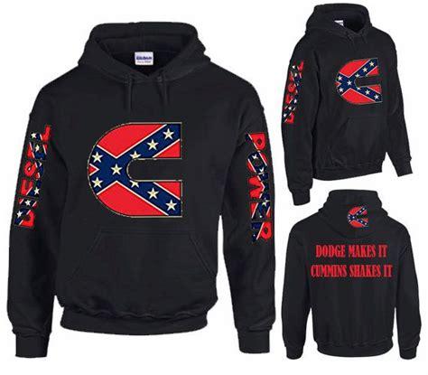 dodge makes it cummins shakes it confederate rebel flag