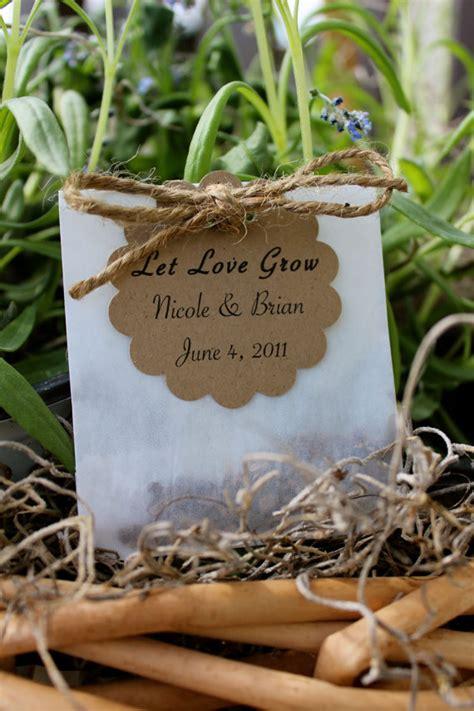 wildflower seed favors eco friendly wedding emmaline