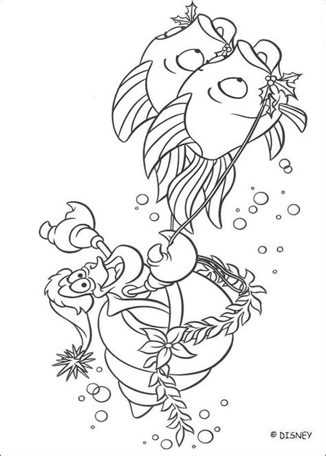 little mermaid king triton coloring pages little mermaid sebastian coloring pages coloring home