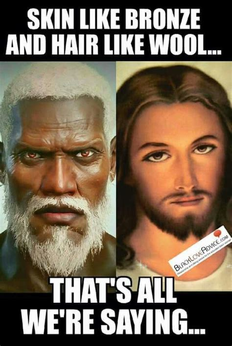 what color was jesus let it be known that s how the bible describes