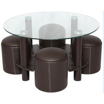 mesas de centro con taburetes mesa de centro viena 4 taburetes
