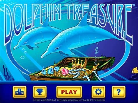 dolphin treasure aristocrat slot machine   real money