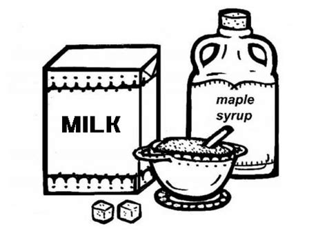 milk coloring page clipart best