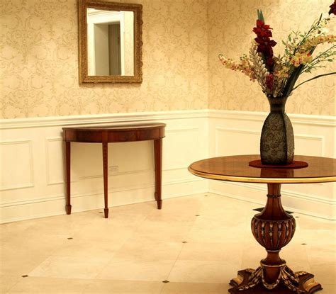half circle entry table half entry table ideas for home
