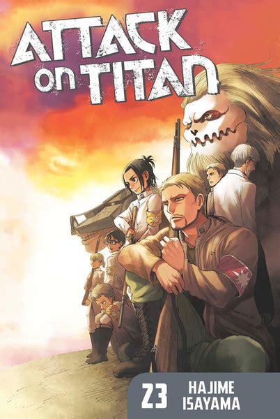 attack on titan 23 attack on titan volume 23