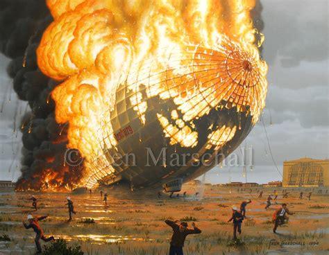 The Of Painting titanic artist ken marschall offers hindenburg paintings